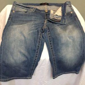 Bermuda shorts. Long shorts